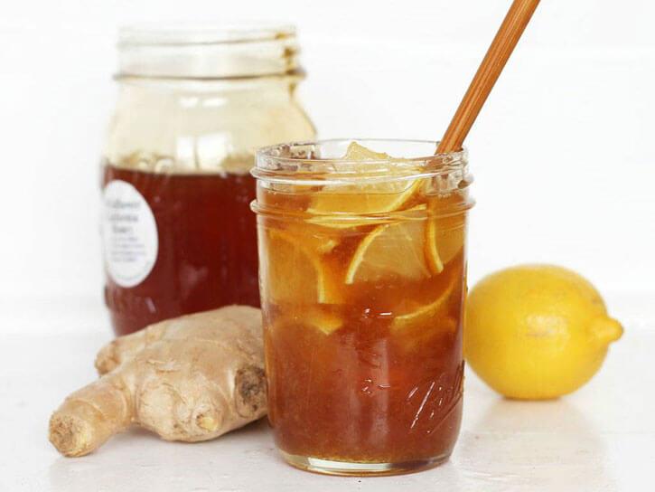лимон мед имбирь от першения в горле