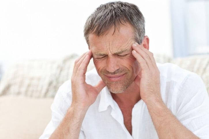 спазмы сосудов головного мозга у мужчины