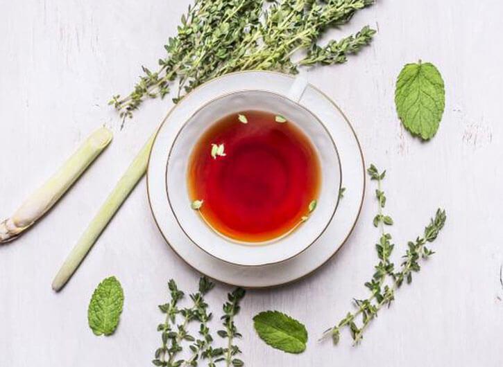 чай и травы от насморка
