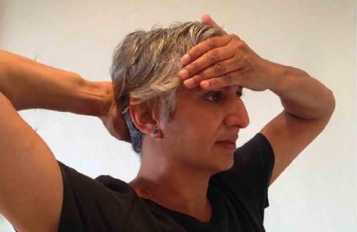 снять головную боль ладонями
