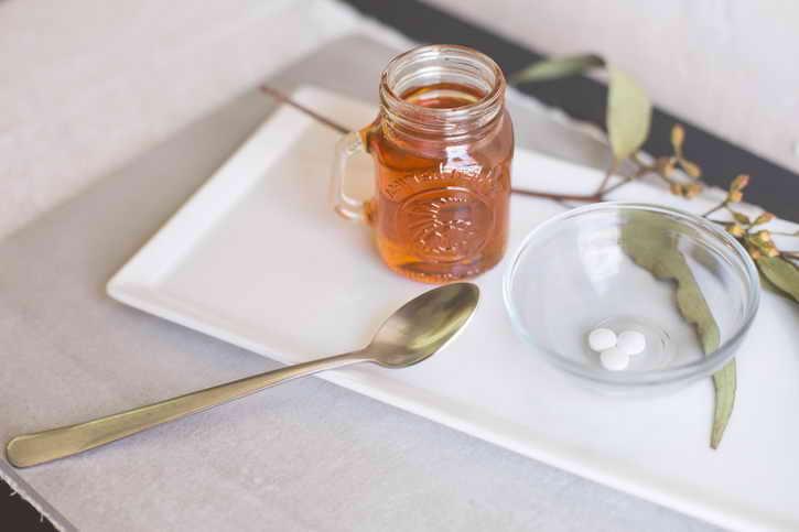 мед и аспирин