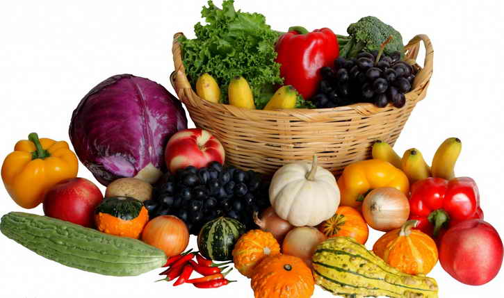 овощи и фрукты в диете от рака