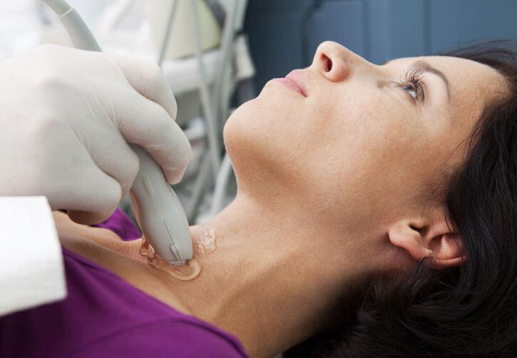 диагностика кисты щитовидной железы у женщины