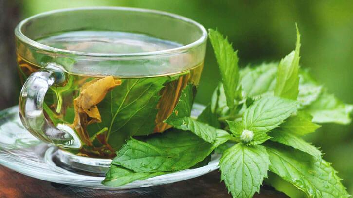монастырский чай в чашке