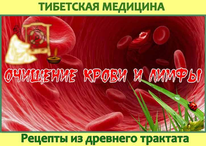 очистить кровь и лимфу