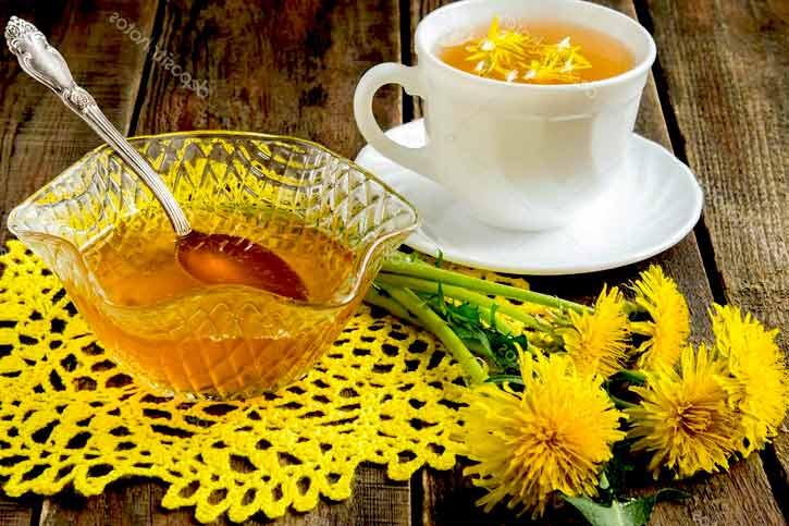 варенье из одуванчиков с чаем