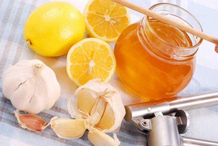 мед лимон чеснок для сосудов