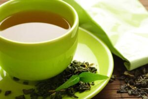 зеленый чай применение